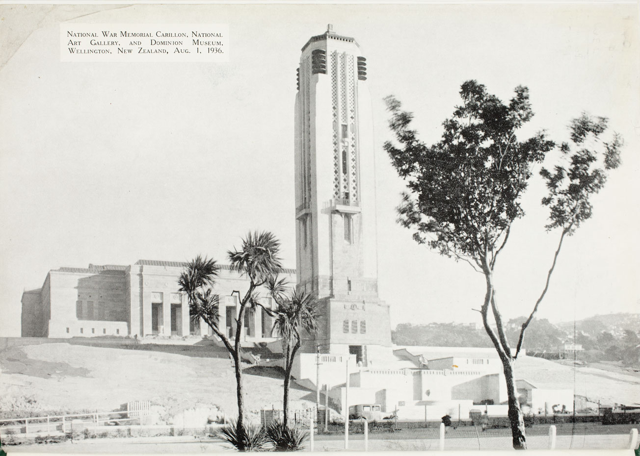 National War Memorial and Carillon, Wellington, New Zealand (1932, Frontispiece).
