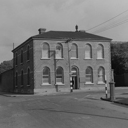 Former Mount Cook Police Station, Buckle Street, Wellington, 1956.