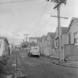 King Street, Mt Cook, Wellington, 1957.
