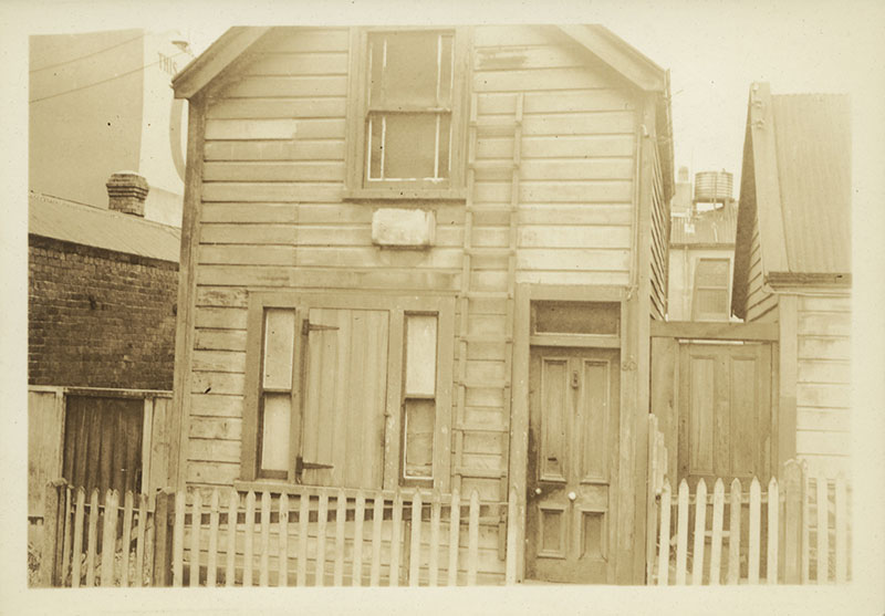 House in Haining Street, Wellington, 1937.